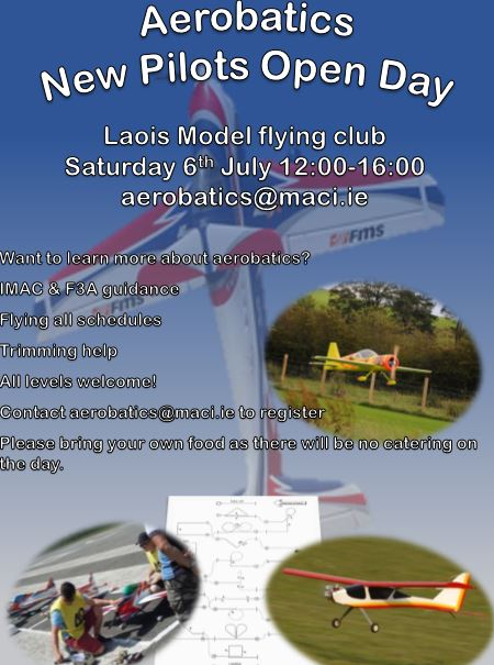 Aerobatics Open Day @ LMAC